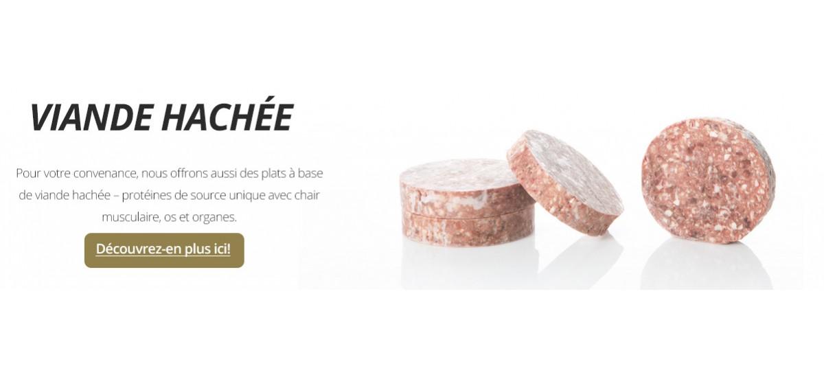 Viande hachée - protéines de viande, des os, des organes